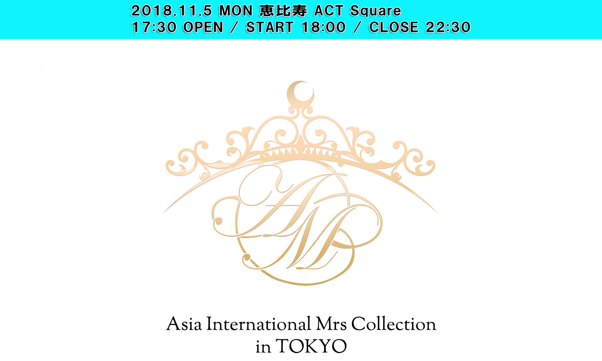 Asia International Mrs Collection in TOKYO